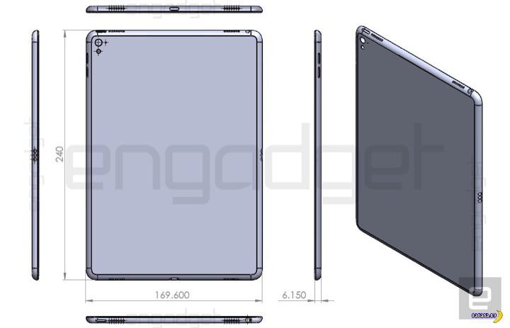 Просочилась информация про iPad Air 3