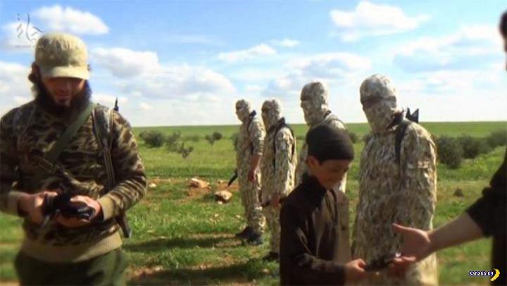 Боевики ИГИЛ казнили 14-летнего сирийского пацана