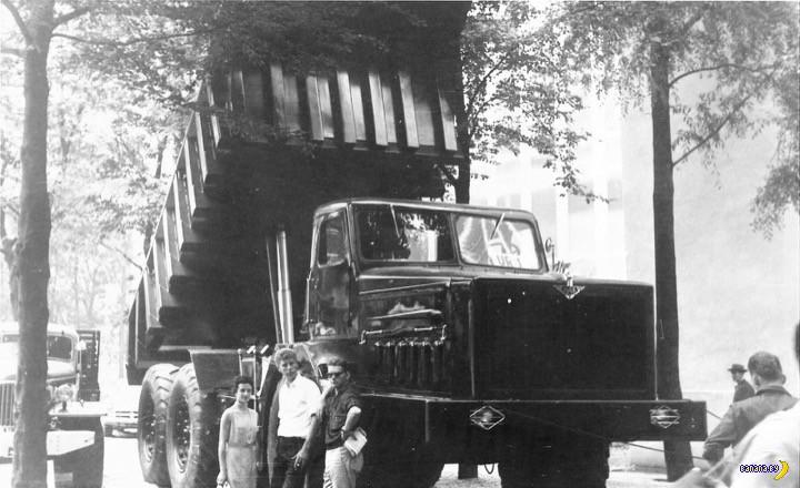 Предмет гордости –МАЗ-530