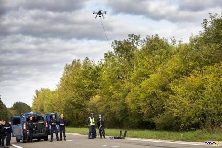 Французская полиция получила дроны