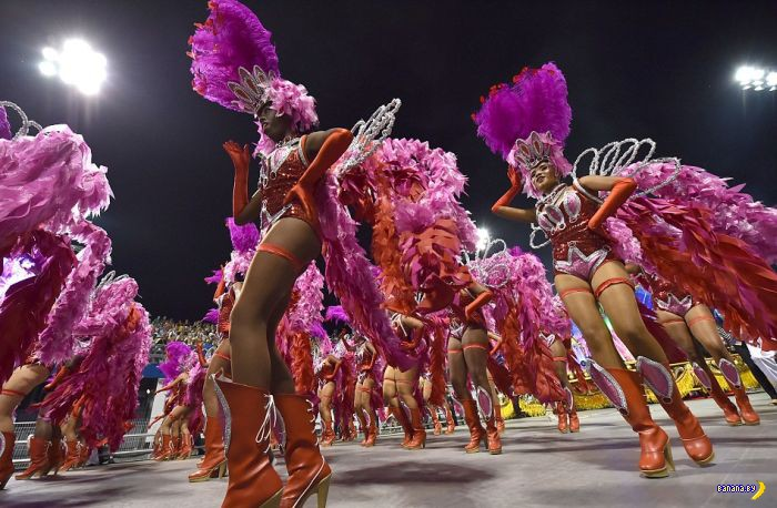 Фотографии с бразильских карнавалов