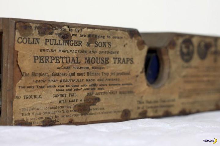 155-летняя мышеловка исправно работает в музее