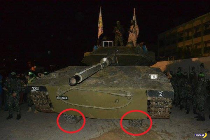 Хамас показал свой собственный танк!