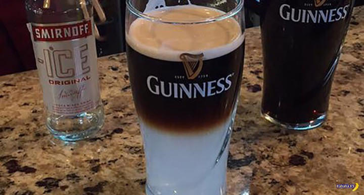 В Англии придумали новый коктейль на основе пива Guinness