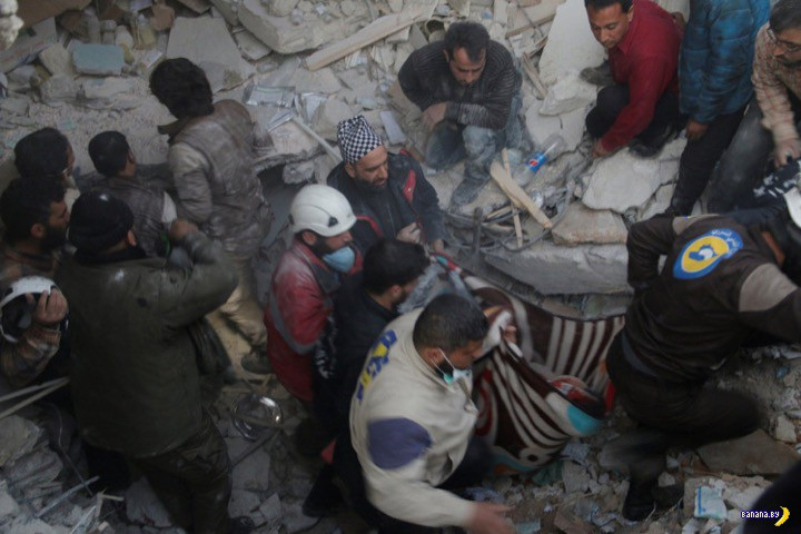 Amnesty International обвинили Россию в военных преступлениях в Сирии