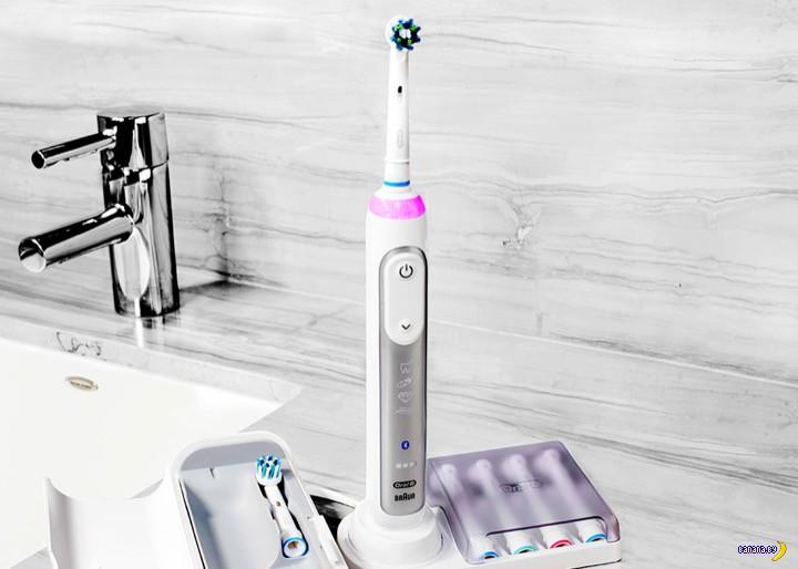 Встречайте умную зубную щетку!
