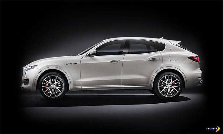 Неожиданный Maserati Levante
