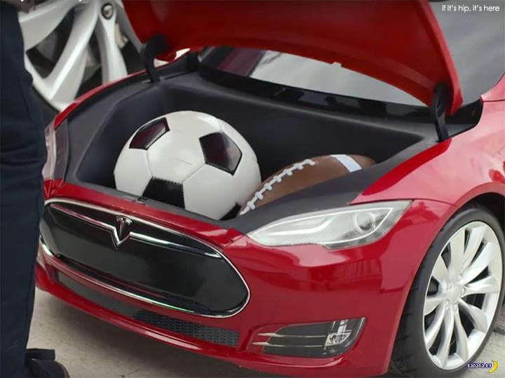 Бюджетный вариант Tesla S Model