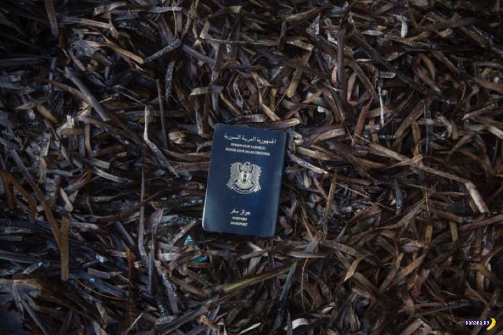 Беженцы избавляются от паспортов