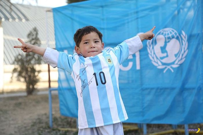 Сбылась мечта афганского пацана