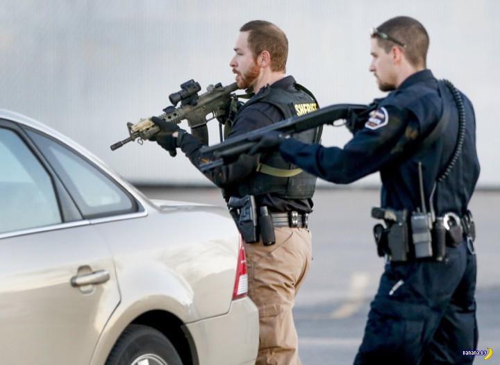 Бойня в Канзасе: 4 убито, 14 ранено