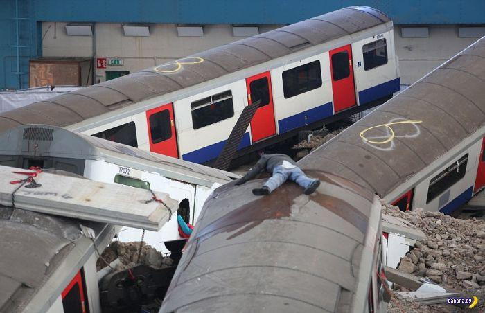 В Лондоне случилась беда!