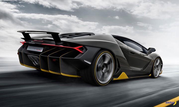 Внезапно - Lamborghini Centenario