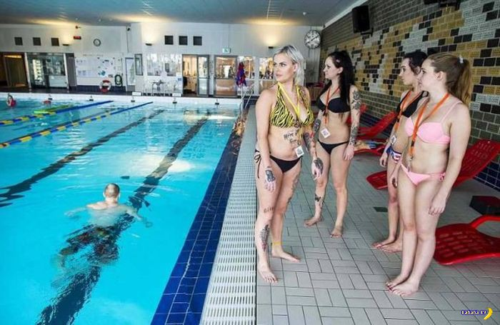 Шведские спасительницы из бассейна