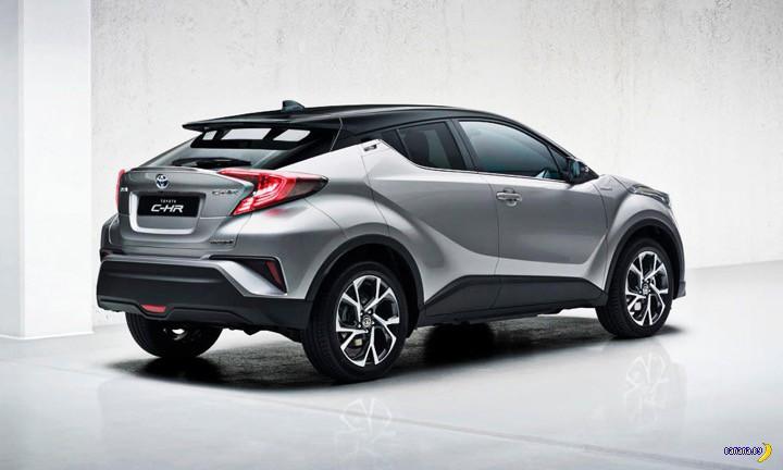 В Женеве показали Toyota C-HR
