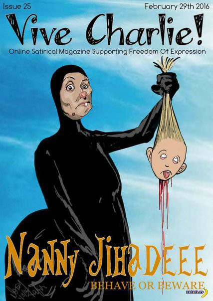 В Британии нарисовали карикатуру на няню-убийцу