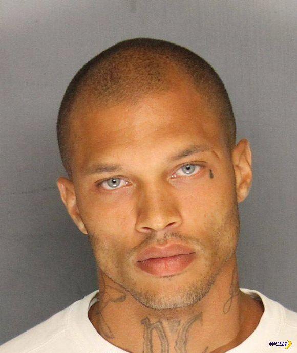 Самый красивый преступник вышел на волю и действительно стал моделью!
