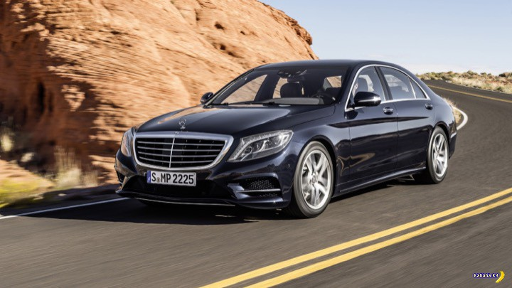 Uber купил 100 тысяч Mercedes-Benz S-Class