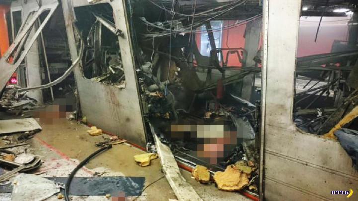 Террористическая атака в Брюсселе