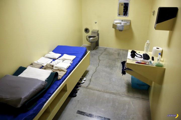 Редкие кадры из тюрьмы в Гуантанамо