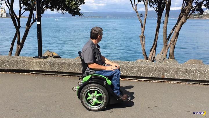 Отличный гаджет для инвалидов