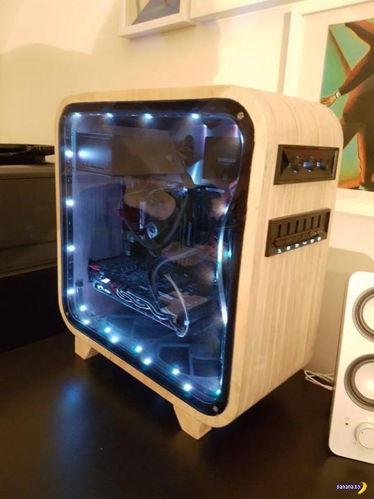 Деревянный корпус для компьютера своими руками