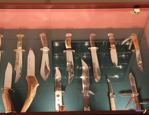 Арсенал преступников в музее