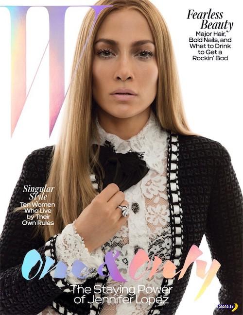 Дженнифер Лопес для W magazine