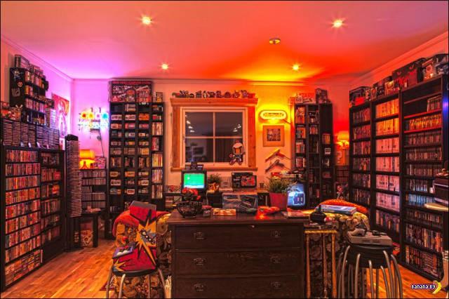 Люди хвастаются игровыми комнатами