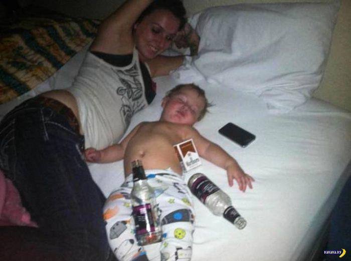 Плохие мамочки шалят на фото