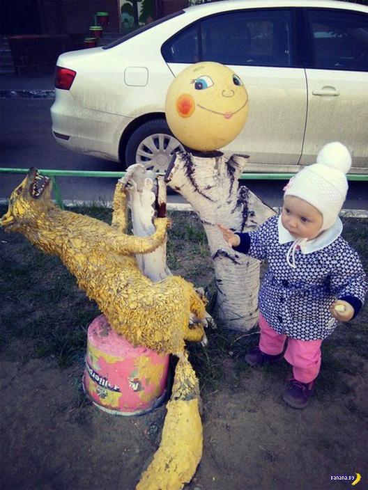 Сюрприз на детской площадке в Омске