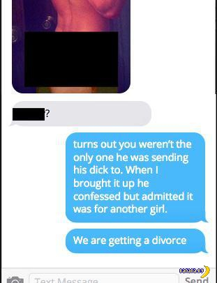 Перепутал контакты, в итоге потерял жену
