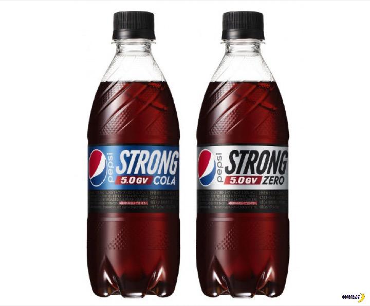 В Японии начали продавать особенно мощный напиток Pepsi
