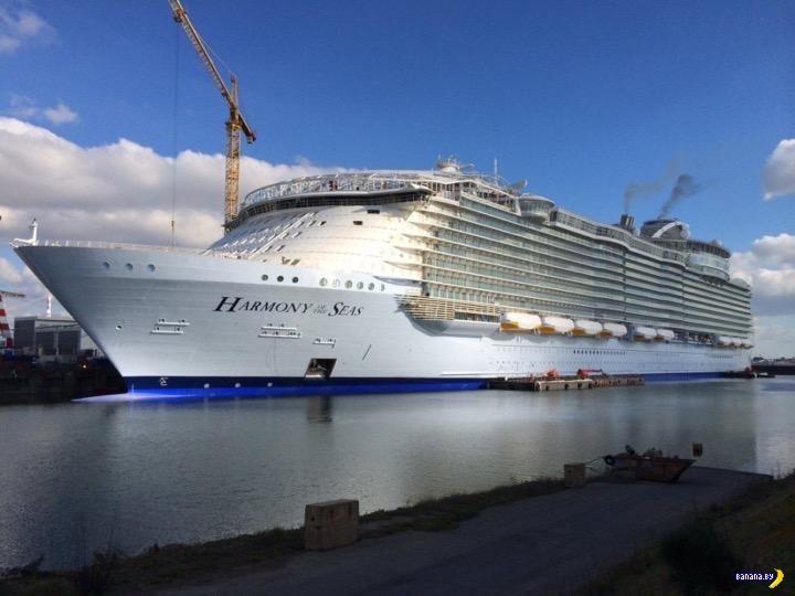 Круизный лайнер Harmony of the Seas