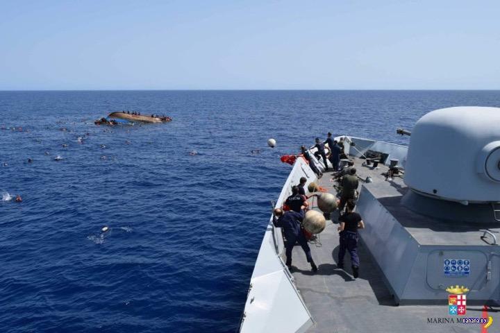 Драма у берегов Ливии
