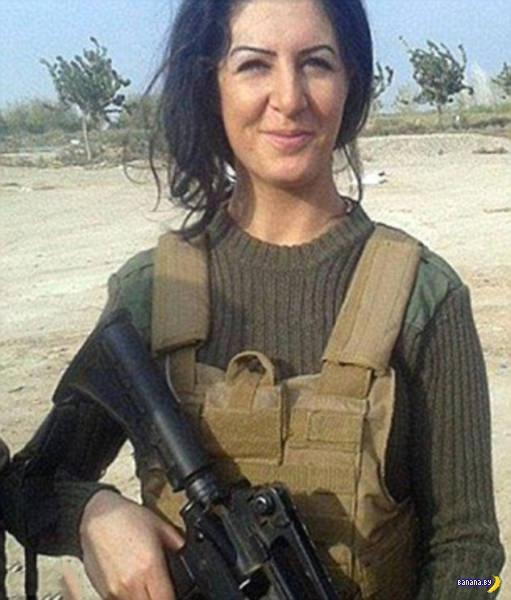 Студентка бросила учебу чтобы воевать против ИГИЛ