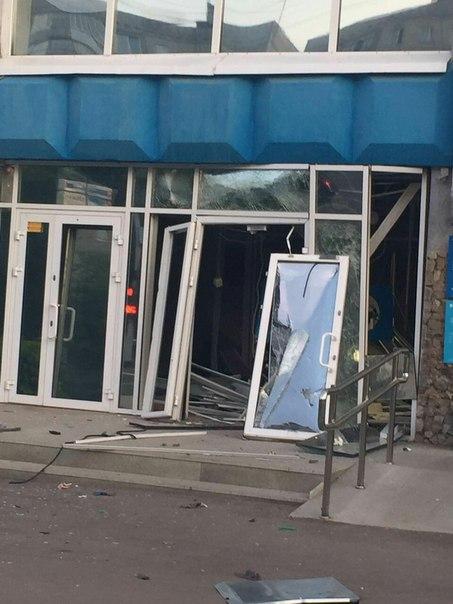 В России взорвали очередной банкомат