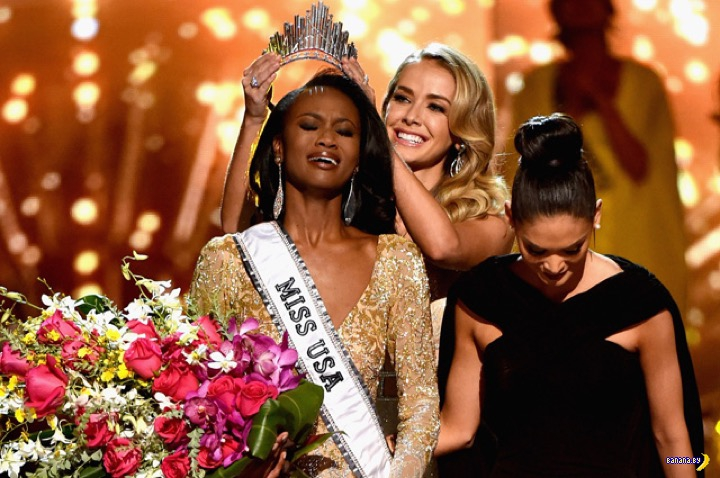 Выбрали Мисс США и она черная