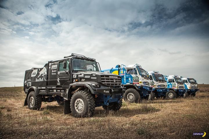 «КАМАЗ-мастер» выставит на ралли новый грузовик