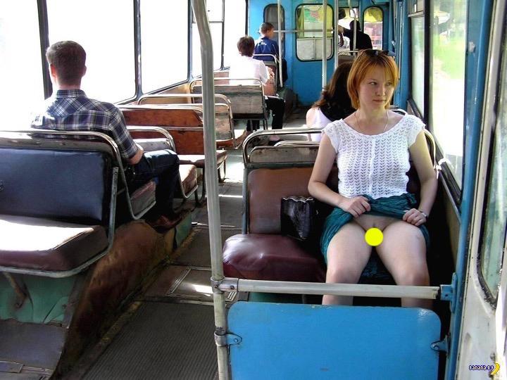 частное видео приставание к девушкам в общественном транспорте