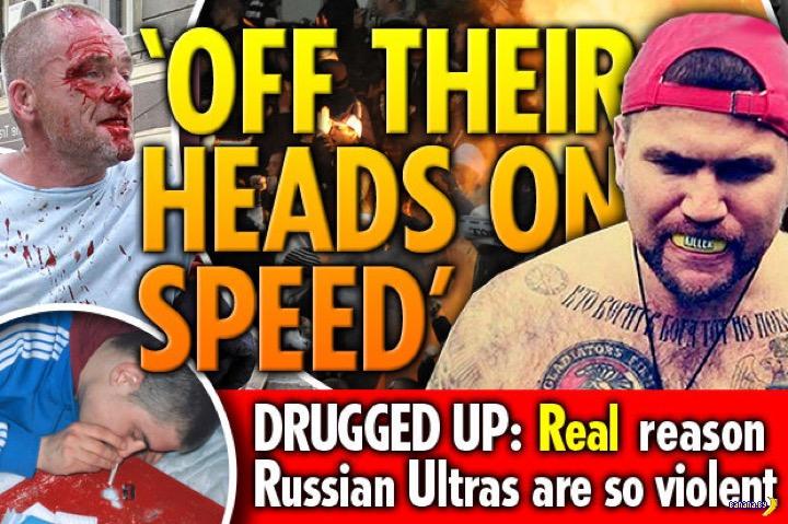 Новые истории про российских хулиганов от британских СМИ