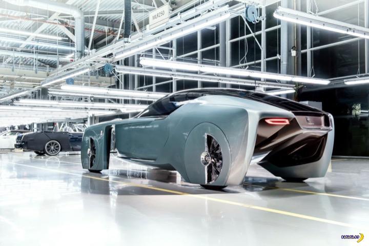 Rolls-Royce и ретро-футуризм