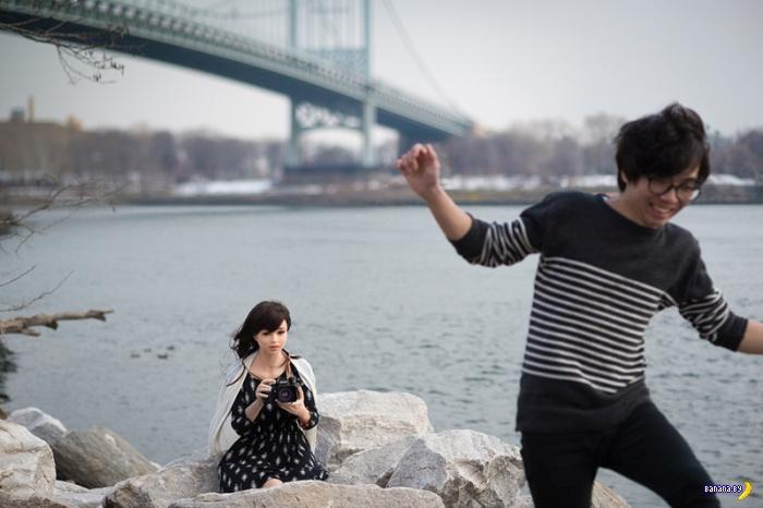 Фотограф и его не живая подружка