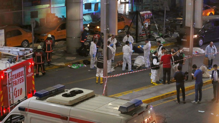 Три взрыва в Турции