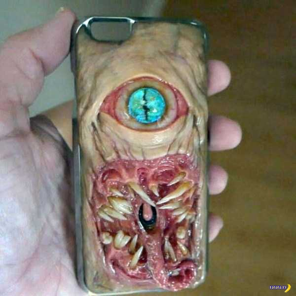 Кошмарные чехлы для смартфонов