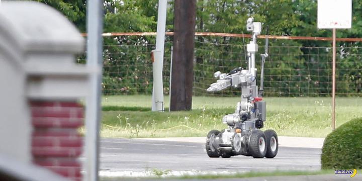 Робот-убийца из Далласа