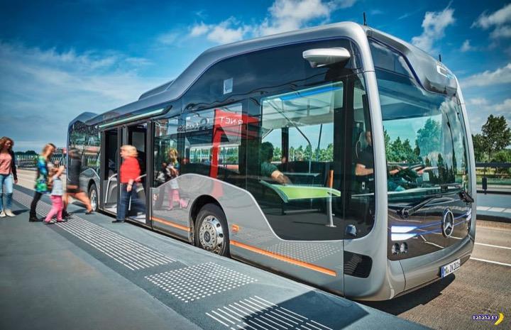 Mercedes-Benz показал автобус завтрашнего дня