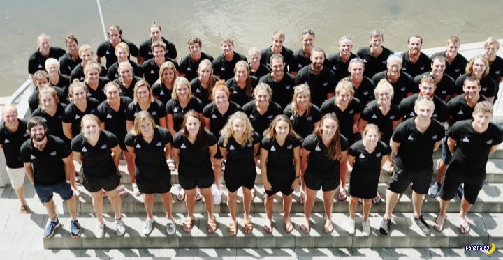 Скандал с олимпийской сборной Новой Зеландии