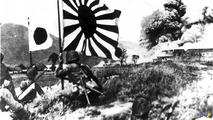 the role of japan and china in world war two