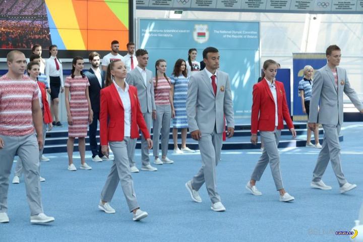 Рио-2016 – Парадная олимпийская униформа разных стран